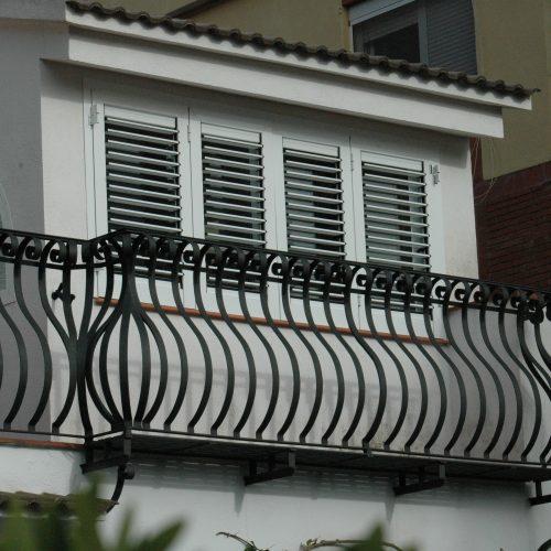 Detall cantonada barana balcó